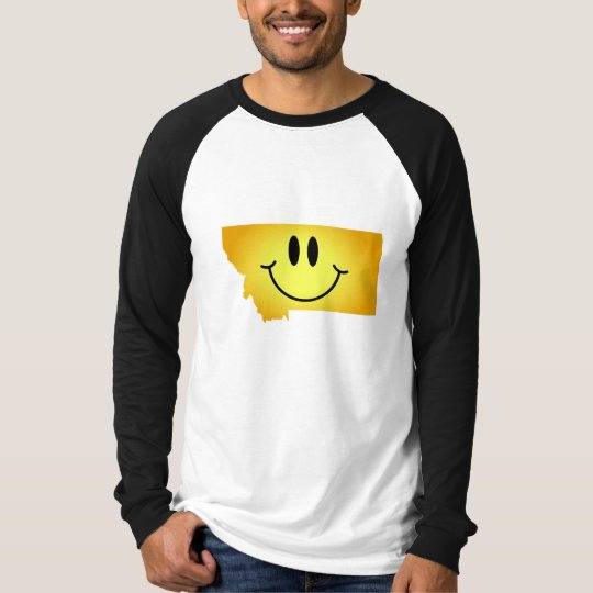 Montana Smiley Face T-Shirt