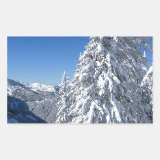 Montaña Snowscape