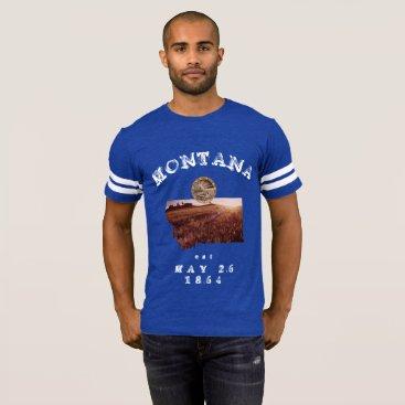 USA Themed Montana Sport Club T-Shirt