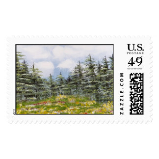 """Montana Spring Meadow"" Stamps"