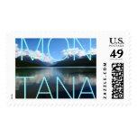 Montana Stamp - Bowman Lake