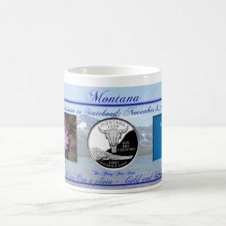 Montana State Commemorative Classic White Coffee Mug