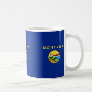 Montana State Flag Design Coffee Mug
