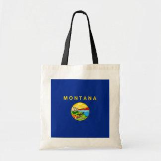 Montana State Flag Design Tote Bag