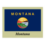 Montana State Flag Post Cards
