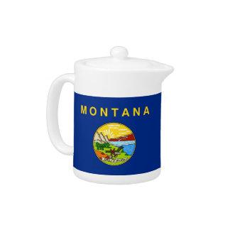 Montana State Flag Teapot