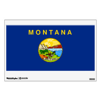 Montana State Flag Wall Graphic