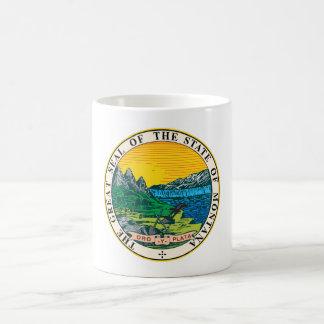 Montana state seal america republic symbol flag coffee mug