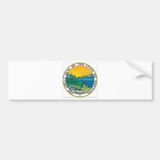Montana State Seal Bumper Stickers