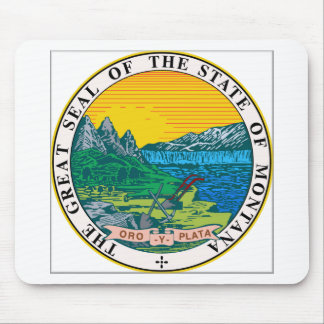 Montana State Seal Mouse Pad