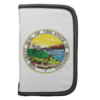 Montana State Seal Folio Planner