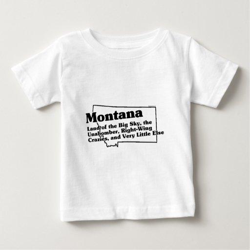 Montana State Slogan Baby T-Shirt