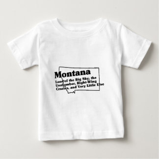 Montana State Slogan T Shirt