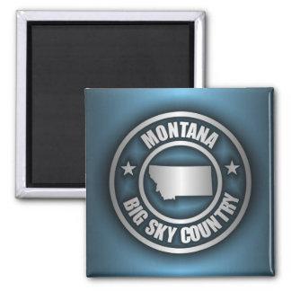 """Montana Steel 2"" Magnets"