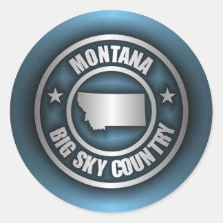 """Montana Steel 2"" Stickers"