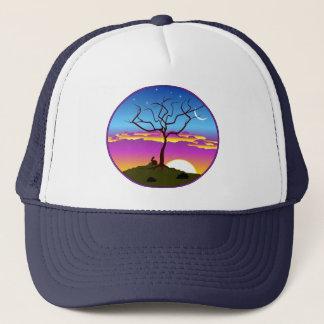 Montana Sunrise Trucker Hat