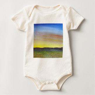 Montana Sunset Baby Bodysuit