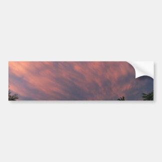Montana Sunset Bumper Sticker