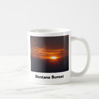 Montana Sunset Coffee Mugs