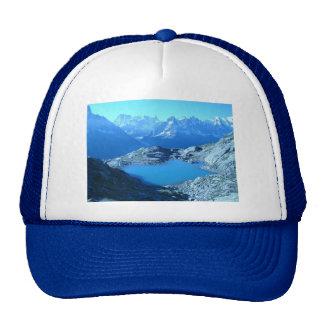montaña suspendida lago de la alta montaña lake-20 gorro