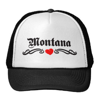 Montana Tattoo Mesh Hats
