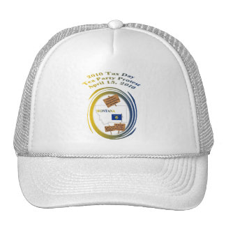Montana Tax Day Tea Party Protest Mesh Hat