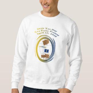 Montana Tax Day Tea Party Protest Sweatshirt