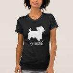 Montaña Terrier blanco del oeste Camisetas