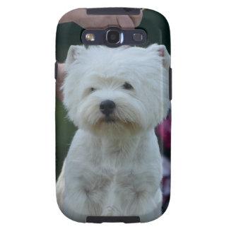 Montaña Terrier blanco del oeste linda Samsung Galaxy S3 Cárcasas