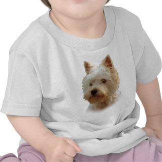 Montaña Terrier blanco del oeste Camiseta