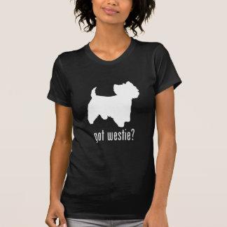 Montaña Terrier blanco del oeste T Shirt