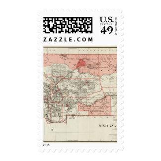 Montana Territory Postage Stamp