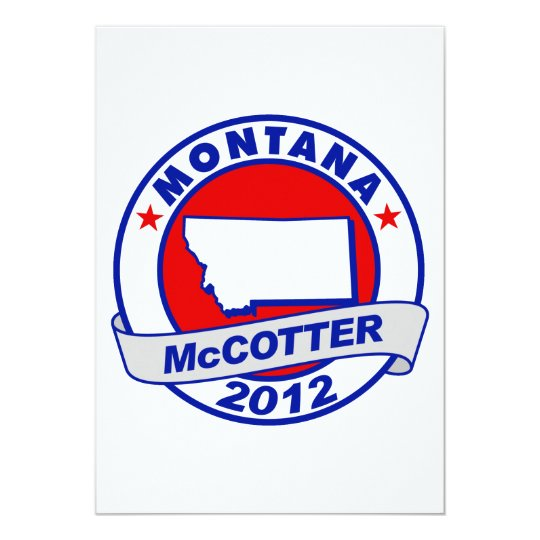 Montana Thad McCotter Card