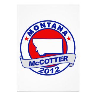 Montana Thad McCotter Personalized Invite