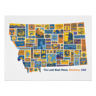 Montana: The Last Best Place Poster