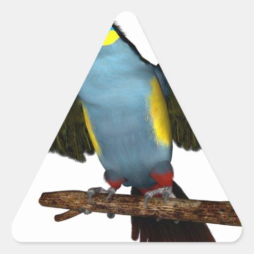Montaña Toucan.png de Placa-Bill Pegatinas Trianguladas