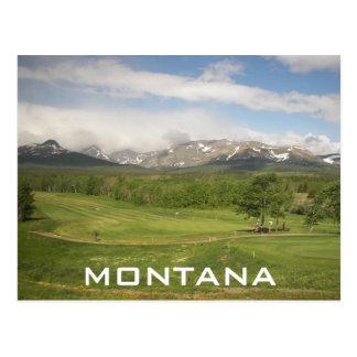 Montana Travel Postcard