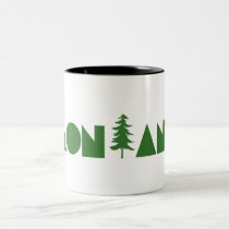 Montana Two-Tone Coffee Mug