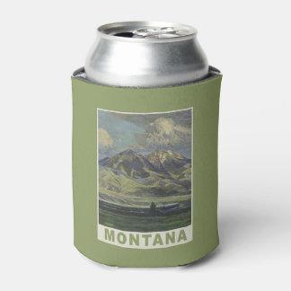 Montana USA Vintage Travel can cooler