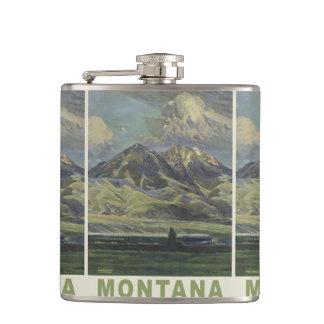Montana USA Vintage Travel flask