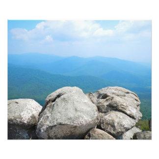 Montaña vieja del trapo fotografías