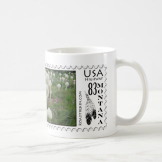 Montana Wildflowers Classic White Coffee Mug