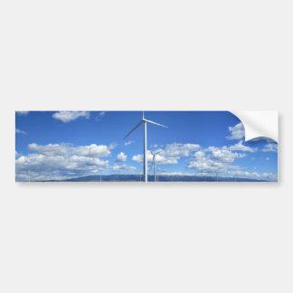 Montana Windmills Bumper Sticker