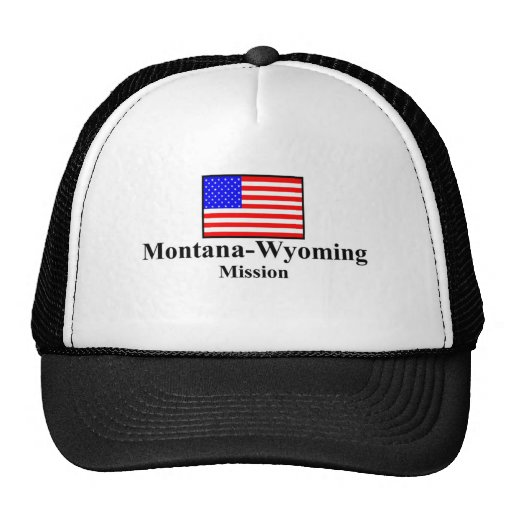 Montana Wyoming Mission Hat
