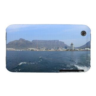 Montaña y Cape Town, ZA de la tabla iPhone 3 Cárcasas