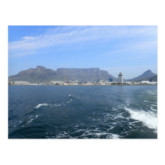Montaña y Cape Town, ZA de la tabla Postal