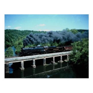 Montaña y lectura azules 4-8-4 #2102 Pennsyl casta Postal