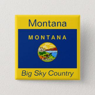 Montanan Flag Button