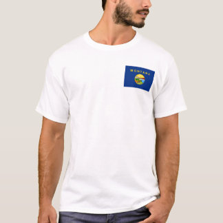 Montanan Flag + Map T-Shirt