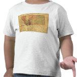 MontanaPanoramic MapMontana Tshirt